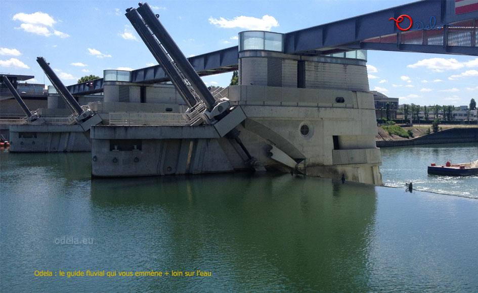 Barrage Ecluse de Chatou