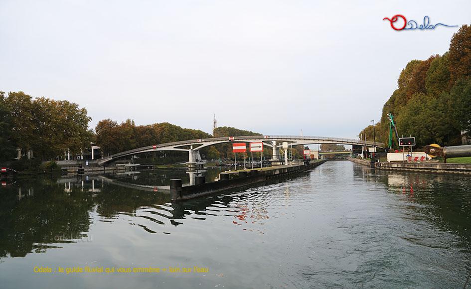 Barrage Ecluse de Saint-Maurice